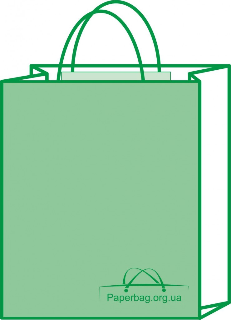kraft bag with handle for main page