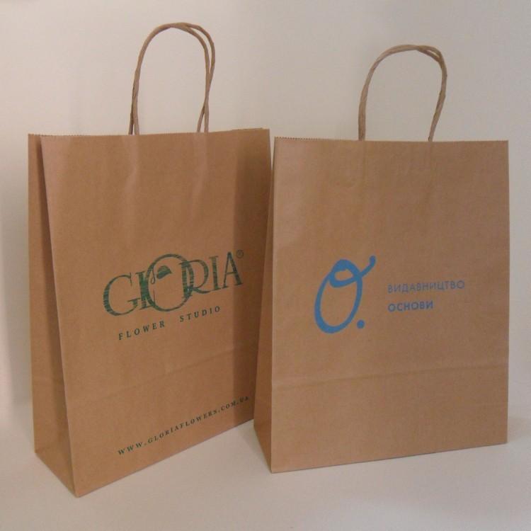 бумажные пакеты с логотипом украина