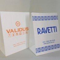 Бумажные пакеты с логотипом, Паперові пакети з логотипом